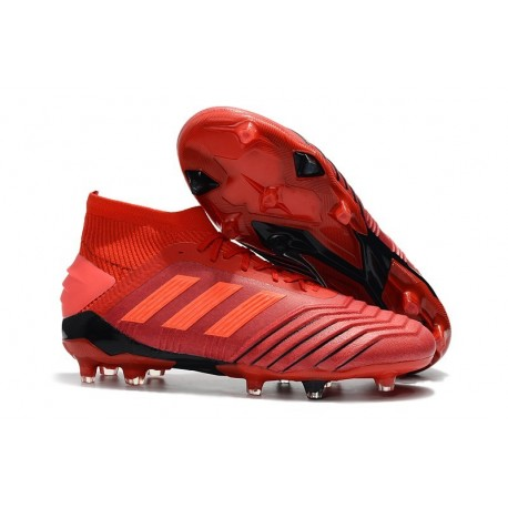 adidas Scarpa da Calcio Predator 19.1 FG - Rosso