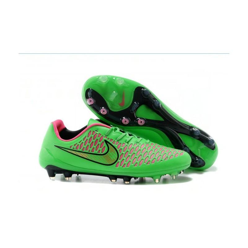 Scarpa da Calcetto FG Uomo Nike Magista Opus FG Calcetto Verde Rosa 97b277
