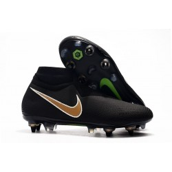 Nike Phantom Vision Elite DF Anti-Clog SG-PRO Nero Oro