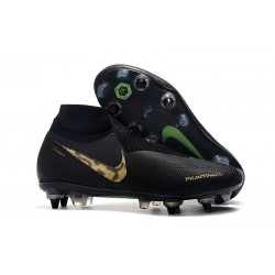 Nike Phantom Vision Elite DF Anti-Clog SG-PRO Black Lux
