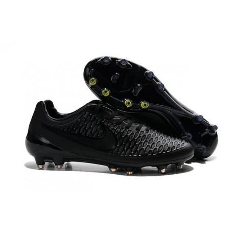 Scarpe Calcio Andres Iniesta Nike Magista Opus FG Tutto Nero