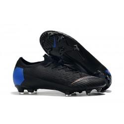 Nike Mercurial Vapor 12 Elite FG ACC Scarpe Uomo Nero Blu Arancio