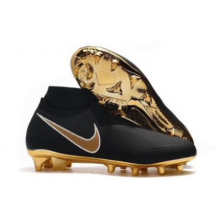 Scarpe Calcio Nike Phantom VSN Elite DF FG - Nero Oro