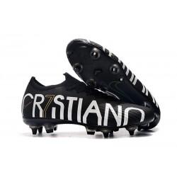 Cristiano Ronaldo CR7 Nike Scarpe Mercurial Vapor XII SG-Pro Anti Clog