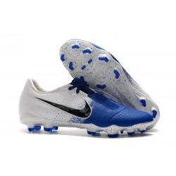 Nike Scarpe Calcio Phantom Venom Elite FG Bianco Blu Nero