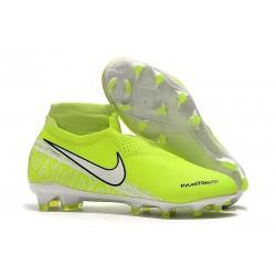 Nike Scarpini da Calcio Phantom Vision Elite FG Volt Bianco
