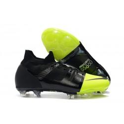 Scarpe da Calcio Nike Mercurial GS360 FG Nero Verde