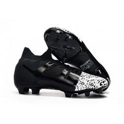 Scarpe da Calcio Nike Mercurial GS360 FG Nero Bianco