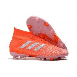 adidas Scarpa da Calcio Predator 19.1 FG - Arancio Bianco