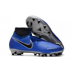 Scarpe Nike Phantom Vision Elite Dynamic Fit FG - Blu Argento