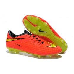 Neymar Scarpa da Calcio Nike HyperVenom Phantom FG Arancio Oro