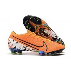 Scarpe calcio Nike Mercurial Vapor 13 Elite FG Arancio Bianco