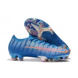 Scarpe calcio Nike Mercurial Vapor 13 Elite FG Blu Rosso