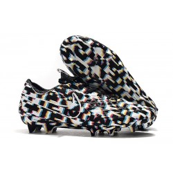 Scarpa Nuovo Nike Tiempo Legend VIII Elite FG Nero Bianco