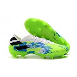 adidas Nemeziz 19.1 FG Scarpe Calcio Bianco Verde Blu