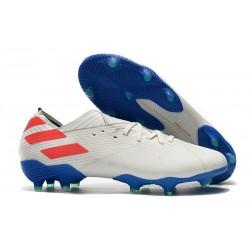 adidas Nemeziz 19.1 FG Scarpe Calcio Bianco Blu Rosso