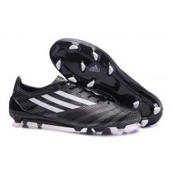 Scarpa Da Calcetto Messi adidas F50 adizero FG Tacchetti Nero Bianco
