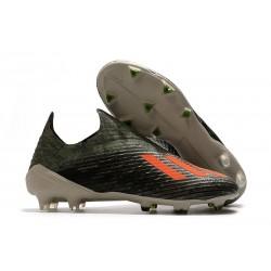 adidas X 19+ FG Scarpa da Calcio Verde Legacy/Arancione Solar/Gesso