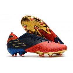 adidas Nemeziz 19.1 FG Scarpe Calcio X Marvel Rosso Blu Nero