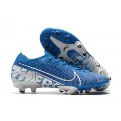 Nike Scarpa Mercurial Vapor 13 Elite AG-PRO Blu Bianco