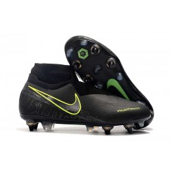 Nike Phantom Vision Elite DF Anti-Clog SG-PRO Nero Volt