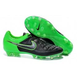 Scarpa da Calcio per Terreni Duri Nike Tiempo Legend V FG Nero Verde