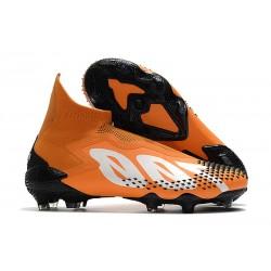 Scarpa adidas Predator Mutator 20+ FG Arancione Bianco Nero