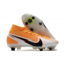 Nike Mercurial Superfly 7 Elite SG-PRO Ac Arancione Laser Nero Bianco