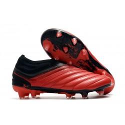 Scarpa adidas Copa 20+ FG da Uomo - Rosso Active Bianco Nero Core