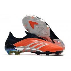 Scarpa Adidas Predator Archive FG - Arancione Argento Nero