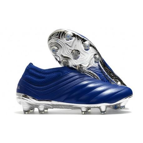 Scarpa adidas Copa 20+ FG da Uomo -Blu Team Royal Argento Metallico