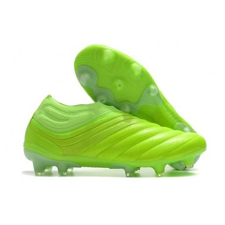 Scarpa adidas Copa 20+ FG da Uomo - Verde Signal Bianco