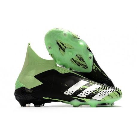 adidas Scarpe Predator Mutator 20+ FG - Nero Verde Bianco