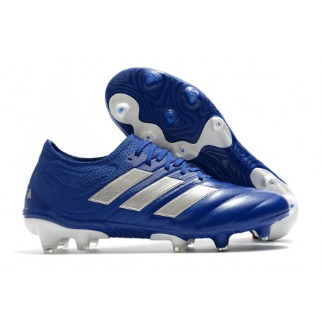 adidas Scarpe da Calcio Copa 20.1 FG Blu Team Royal Argento Metallico