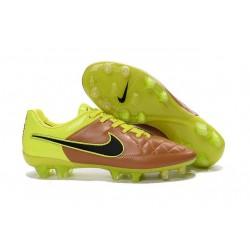 Nike Scarpe Calcio Tiempo Legend 5 FG Canguro Canvas Volt Nero