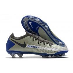 Scarpe Nike Phantom GT Elite FG Uomo - Blu Grigio Nero
