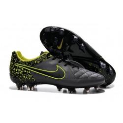 Nike Scarpe Calcio Tiempo Legend 5 FG Canguro Antracide Nero Volt