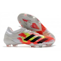 adidas Predator Mutator 20.1 Low FG Bianco Nero Core Pop