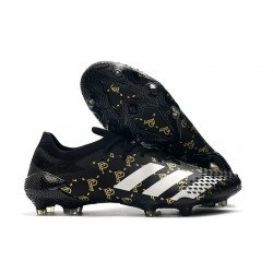 adidas Predator Mutator 20.1 Low FG Paul Pogba Nero Core Grigio Solido