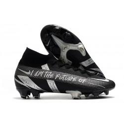 Scarpa Nike Mercurial Superfly VII Elite FG Future Negro Argento