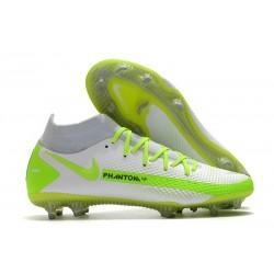 Nike Nuovo Phantom GT Elite Dynamic Fit FG Bianco Verde