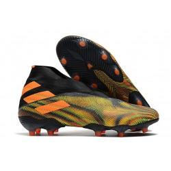 Adidas Scarpa Calcio Nemeziz 19+ FG - Verde Nero Arancione