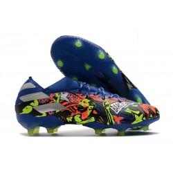 adidas Nemeziz 19.1 FG Scarpe Calcio Blu Team Royal Argento Metallico