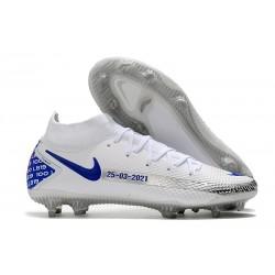 Nike Nuovo Phantom GT Elite Dynamic Fit FG Bianco Blu