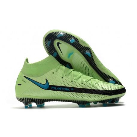 Nike Nuovo Phantom GT Elite Dynamic Fit FG Vert Blu Nero
