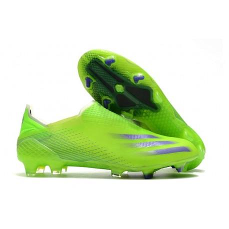 Scarpe adidas X Ghosted + FG Verde Viola