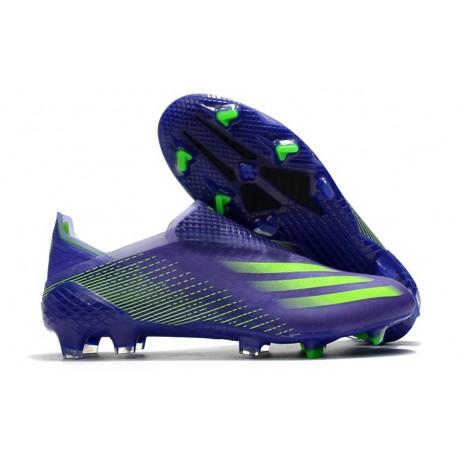 Scarpe adidas X Ghosted + FG Violet Vert