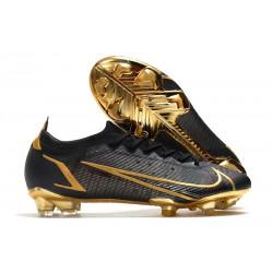 Nike Mercurial Vapor 14 Elite FG scarpa da calcio uomo Nero Oro