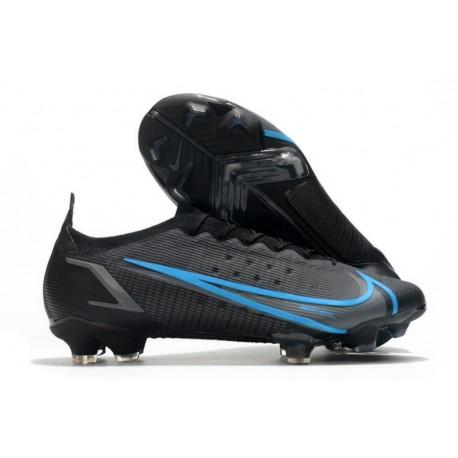 Nike Mercurial Vapor 14 Elite FG scarpa calcio uomo Nero Grigio Ferro