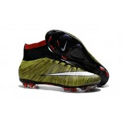 Ronaldo Scarpa Nike Mercurial Superfly 4 FG Giallo Bianco Nero